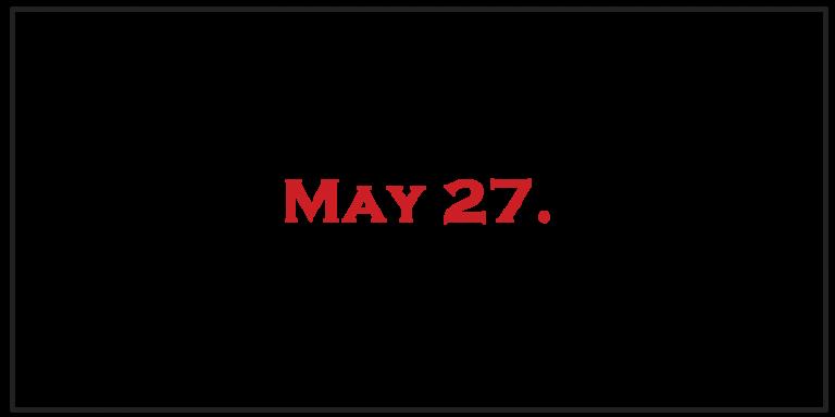 Closed Memorial Day 2019
