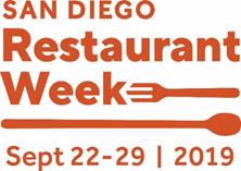 San Diego Restaurant Week - Sept 22-29 - Link
