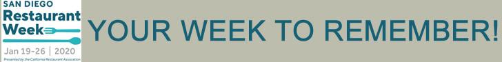 SD Restaurant Week Banner